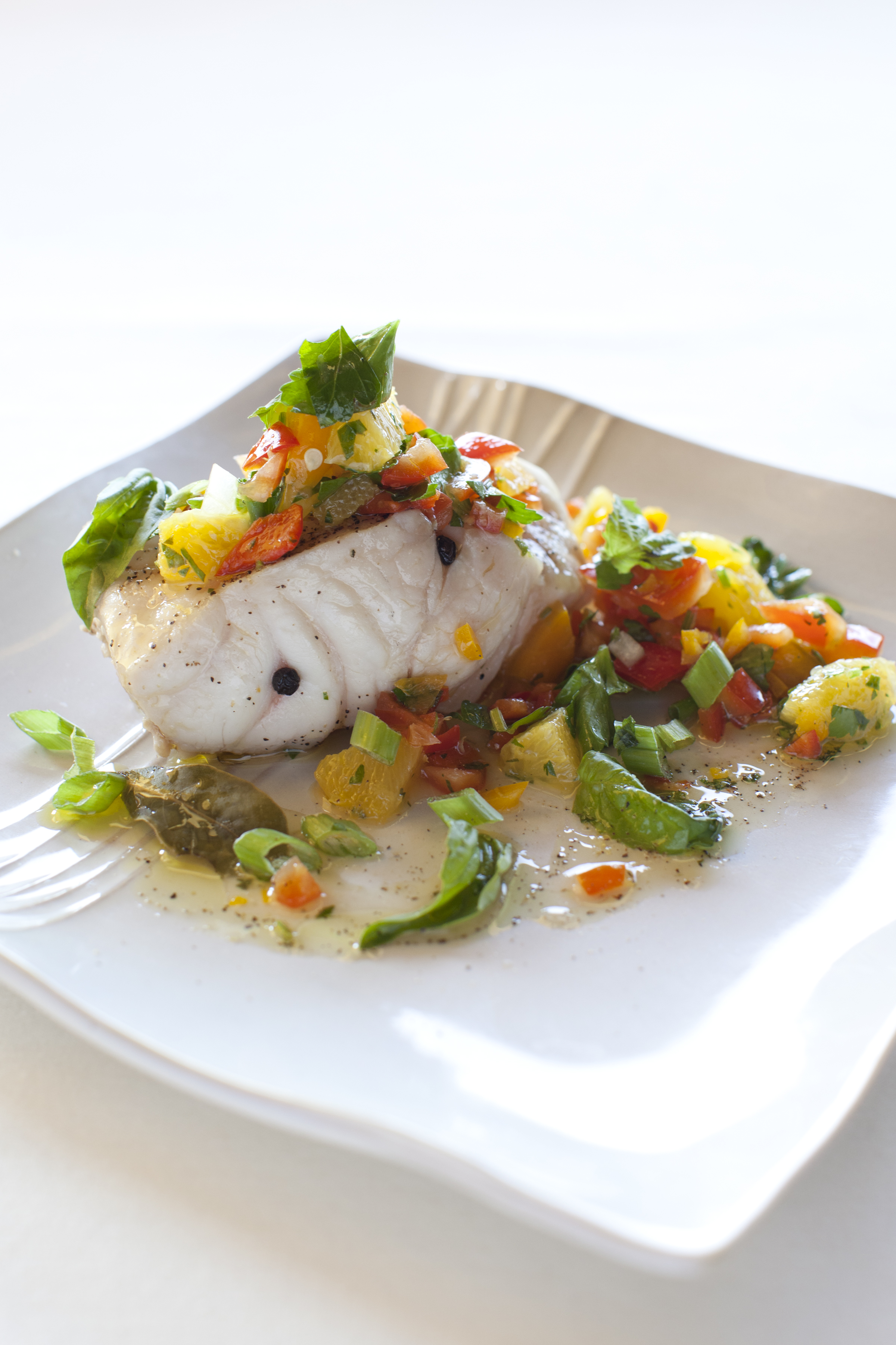 Citrus Cayenne-Poached Halibut Recipes — Dishmaps