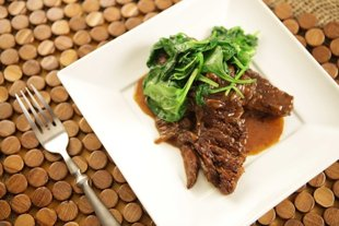 Dark Beer and Black Pepper Braised Short Ribs