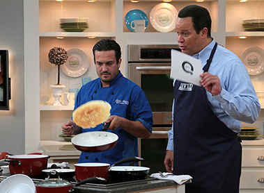 Qvc In The Kitchen With David Chef Fabio Viviani